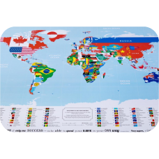 DISCOVERY MAP WORLD FLAGS EDITION