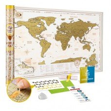 DISCOVERY MAP WORLD GOLD