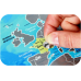 DISCOVERY MAP WORLD SILVER на украинском